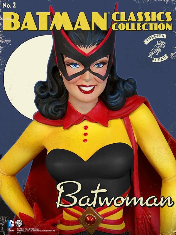 Batman classics collection : Classic Kathy Kane Batwoman Maquette Batwoman_04.jpg