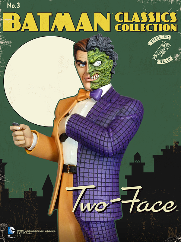 Batman classics collection : Classic Two-Face Maquette Two-face_01.jpg