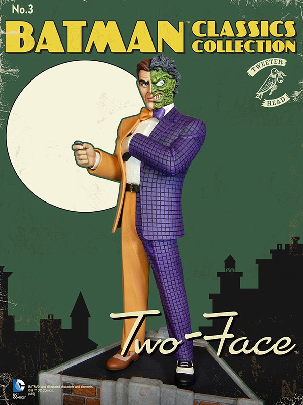 Batman classics collection : Classic Two-Face Maquette Two-face_02.jpg