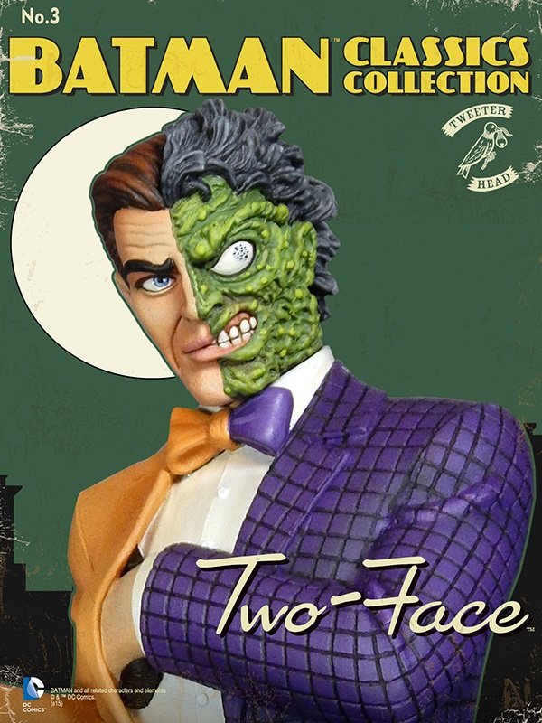 Batman classics collection : Classic Two-Face Maquette Two-face_03.jpg