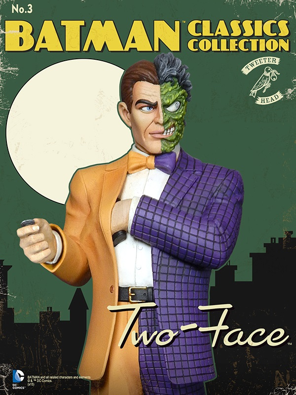 Batman classics collection : Classic Two-Face Maquette Two-face_04.jpg