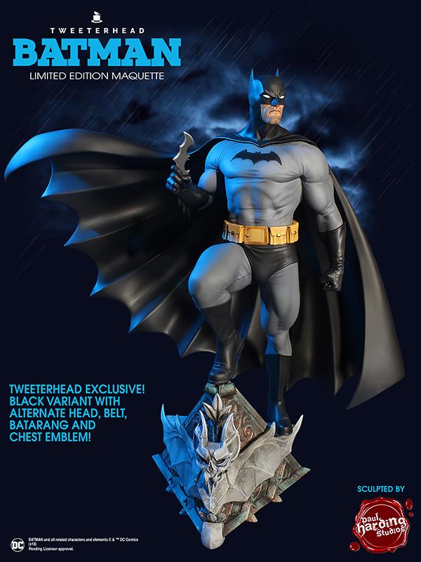 SUPER POWERS BATMAN BLACK VARIANT MAQUETTE Batman-variant_01