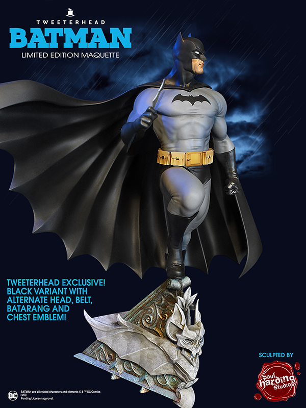 SUPER POWERS BATMAN BLACK VARIANT MAQUETTE Batman-variant_02