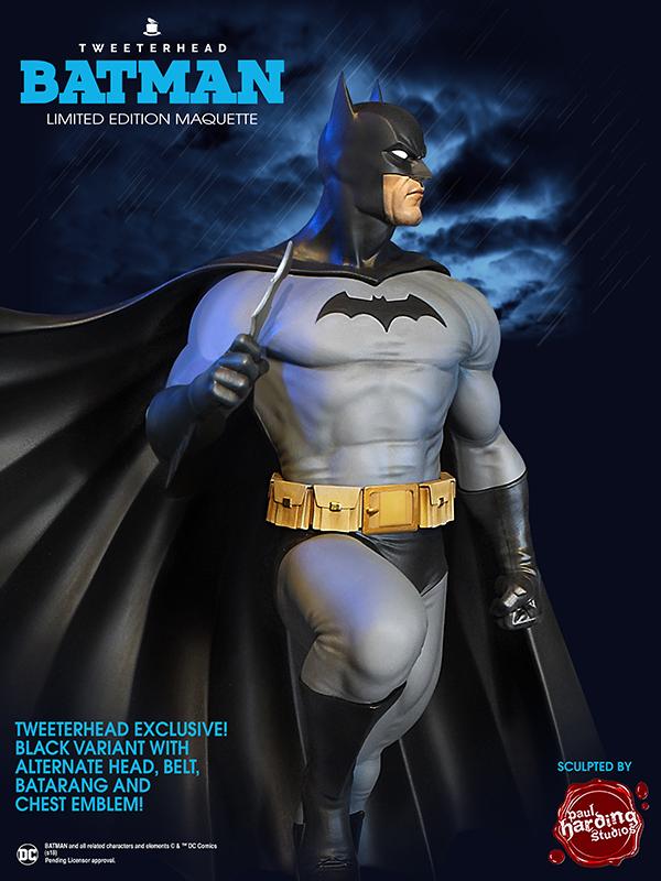 SUPER POWERS BATMAN BLACK VARIANT MAQUETTE Batman-variant_03
