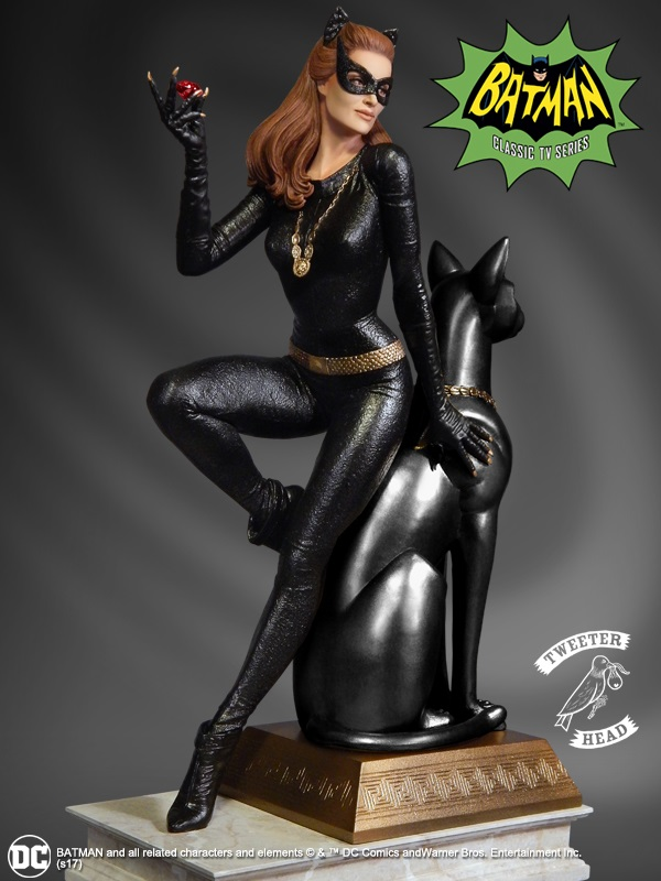 """CATWOMAN """"RUBY EDITION"""" MAQUETTE DIORAMA Catwoman-02"""