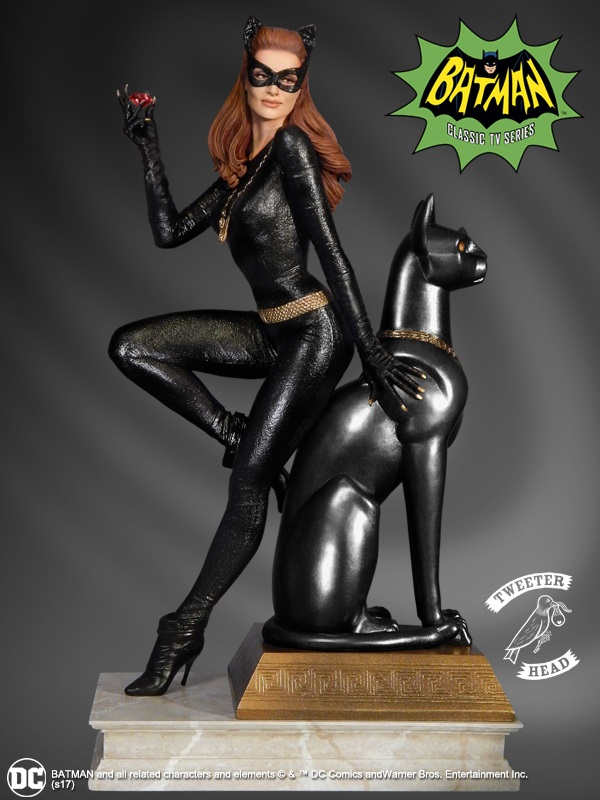 """CATWOMAN """"RUBY EDITION"""" MAQUETTE DIORAMA Catwoman-03"""