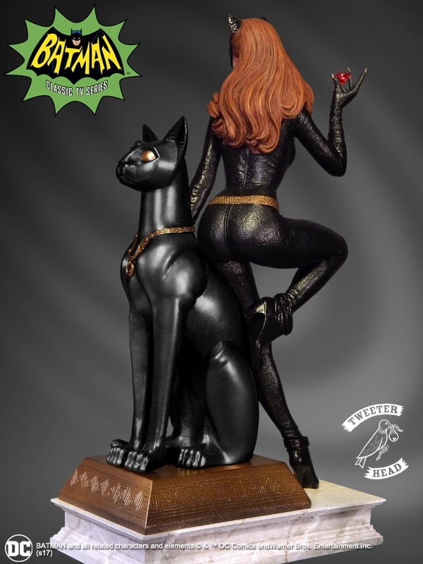 """CATWOMAN """"RUBY EDITION"""" MAQUETTE DIORAMA Catwoman-04"""
