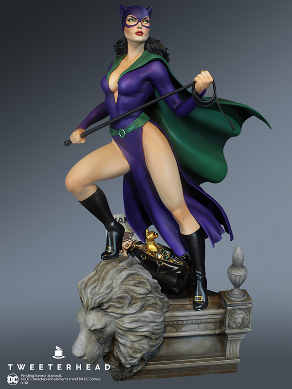 SUPER POWERS COLLECTION : CATWOMAN MAQUETTE Catwoman_01