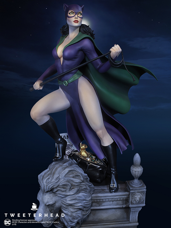 SUPER POWERS COLLECTION : CATWOMAN MAQUETTE Catwoman_04