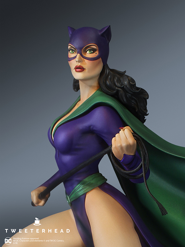 SUPER POWERS COLLECTION : CATWOMAN MAQUETTE Catwoman_05