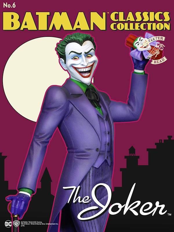 Batman classics collection : the Joker Maquette Joker-classic_01