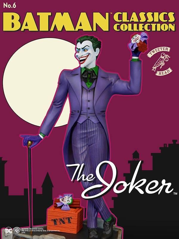 Batman classics collection : the Joker Maquette Joker-classic_02