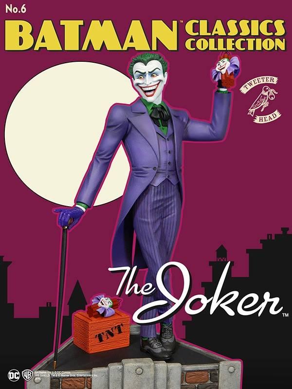 Batman classics collection : the Joker Maquette Joker-classic_03