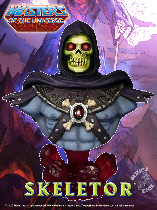 Masters of the Universe : Skeletor Bust Skeletor_02.jpg