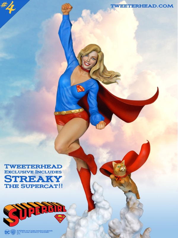 SUPER POWERS SUPERGIRL AND STREAKY MAQUETTE Supergirl_01