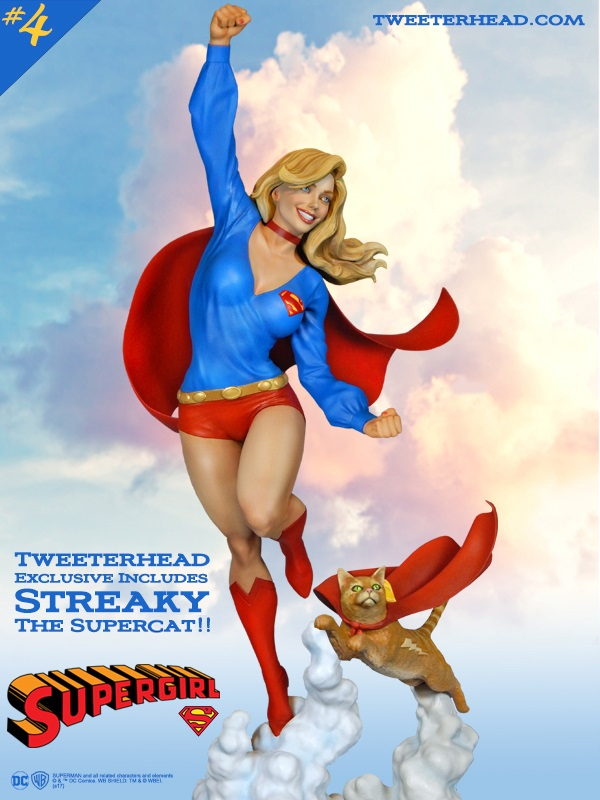 SUPER POWERS SUPERGIRL AND STREAKY MAQUETTE Supergirl_03