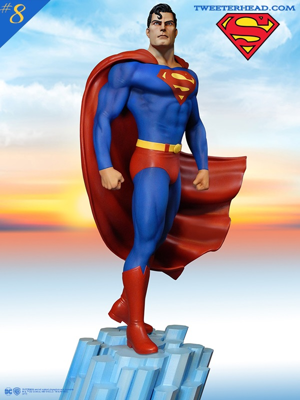 SUPER POWERS SUPERMAN MAQUETTE Superman_04