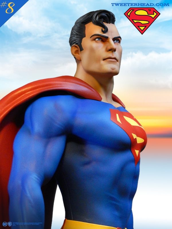 SUPER POWERS SUPERMAN MAQUETTE Superman_05