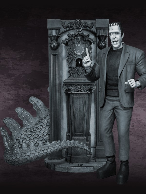 the Munsters Clock and Spot Special Edition Maquette CLOCK_02.jpg