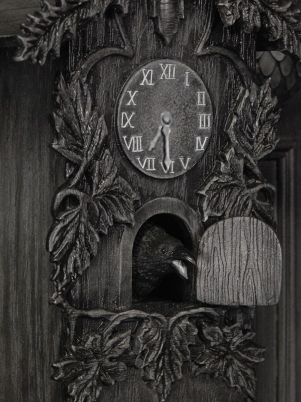 the Munsters Clock and Spot Special Edition Maquette CLOCK_03.jpg