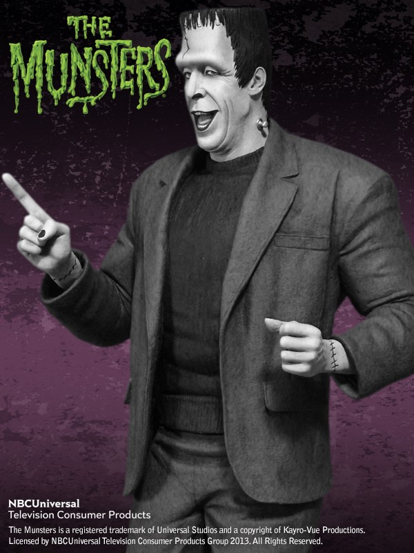 the Munsters : Herman Munster Special Edition Maquette HERMAN_01.jpg