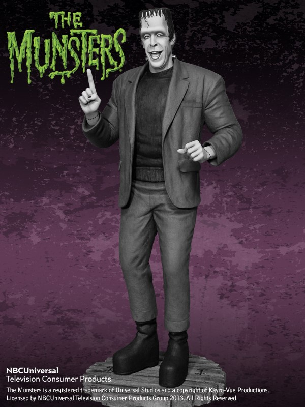 the Munsters : Herman Munster Special Edition Maquette HERMAN_02.jpg