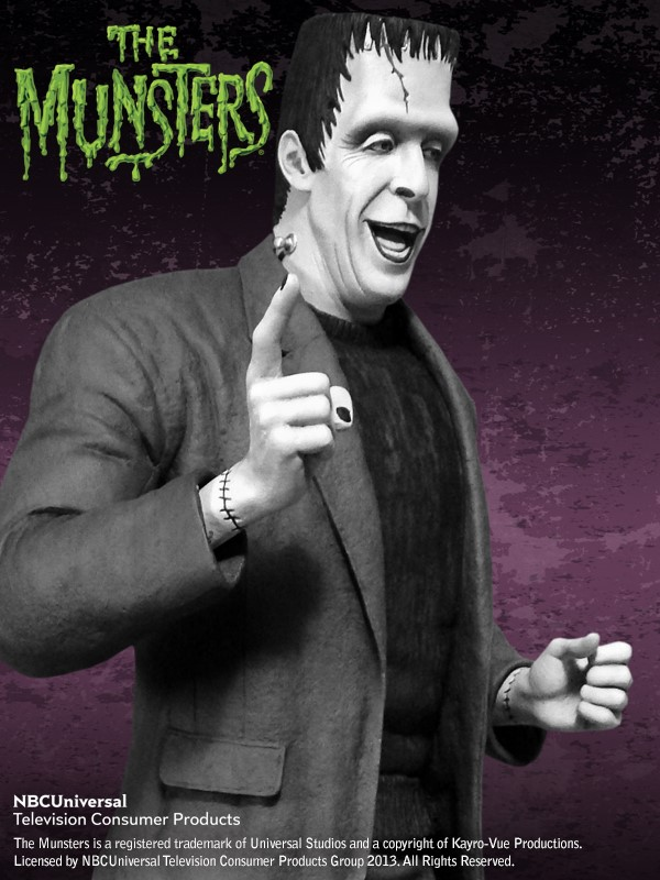 the Munsters : Herman Munster Special Edition Maquette HERMAN_03.jpg