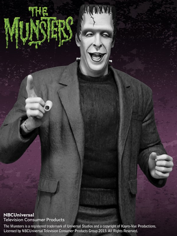 the Munsters : Herman Munster Special Edition Maquette HERMAN_04.jpg