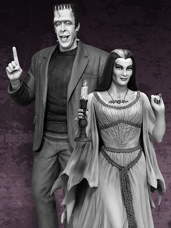 the Munsters : Lily Munster Special Edition Maquette Lily_01jpg