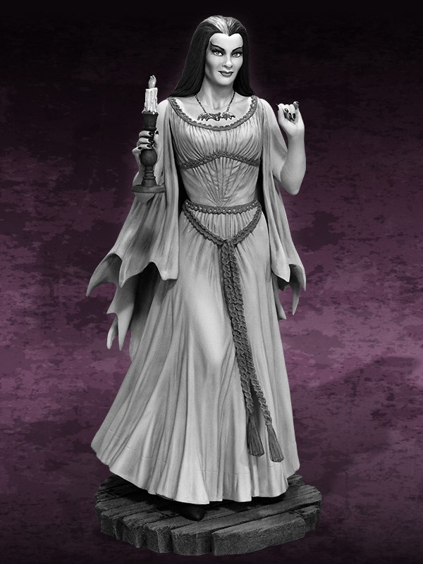 the Munsters : Lily Munster Special Edition Maquette Lily_02.jpg