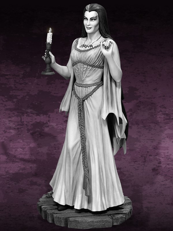 the Munsters : Lily Munster Special Edition Maquette Lily_03.jpg