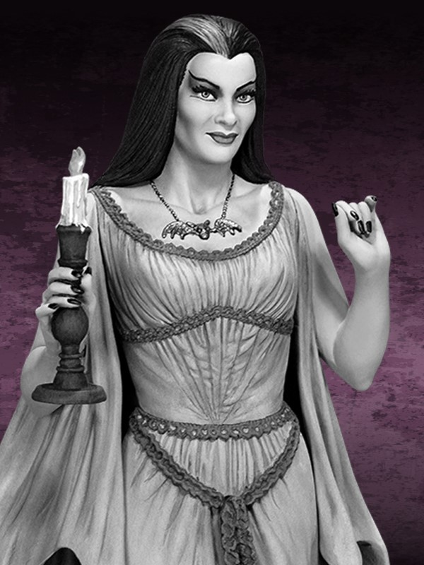 the Munsters : Lily Munster Special Edition Maquette Lily_04.jpg