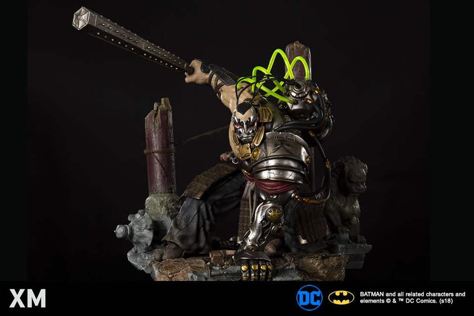 Samurai Series : Bane XM-Bane-samurai-statue-08