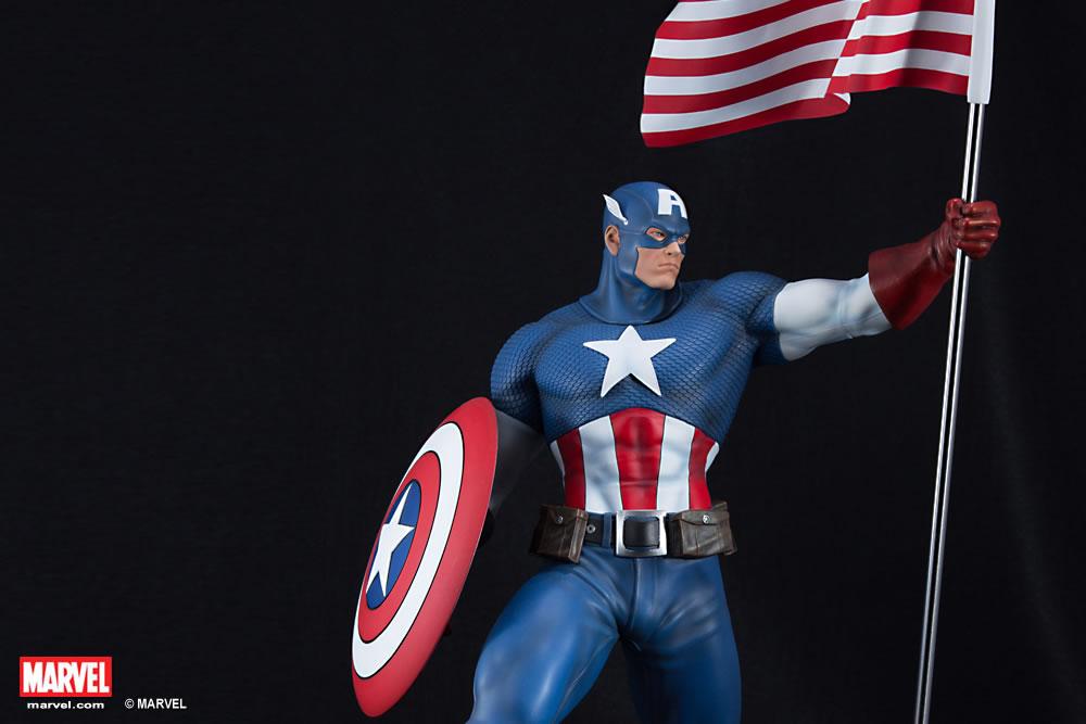 Premium Collectibles : Captain America - Comics Version XM-captain-america-premium-10