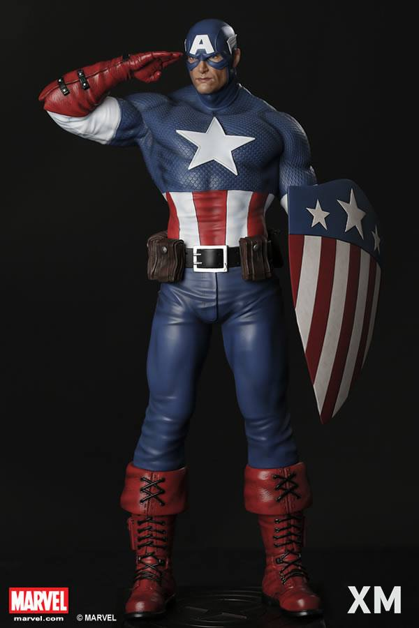 Premium Collectibles : Captain America - Sentinel of liberty XM-captain-america-sentinel-of-liberty-01