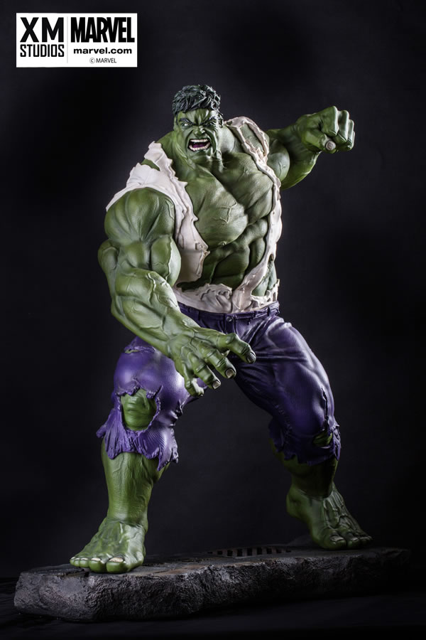 Premium Collectibles : Incredible Hulk - Comics Version XM-hulk-premium-01