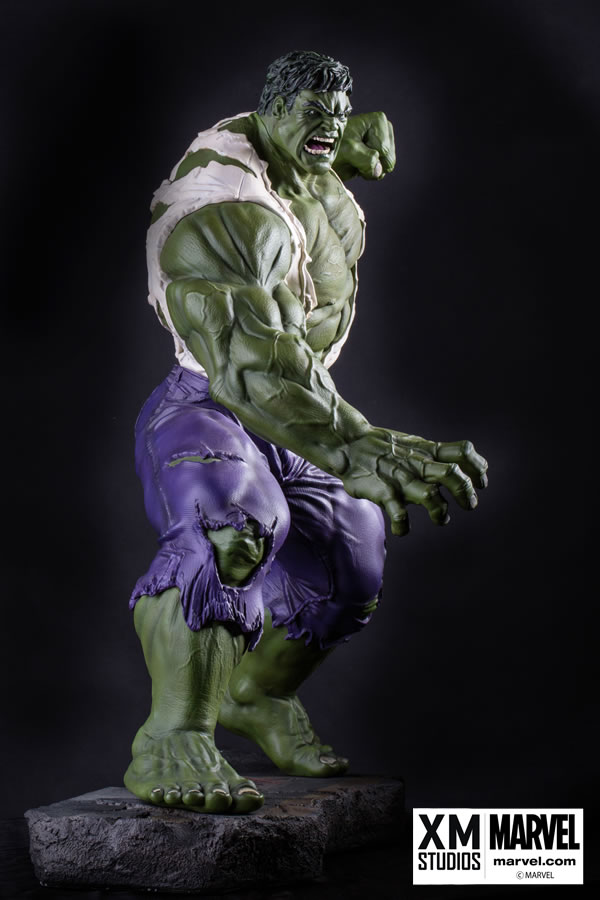 Premium Collectibles : Incredible Hulk - Comics Version XM-hulk-premium-04