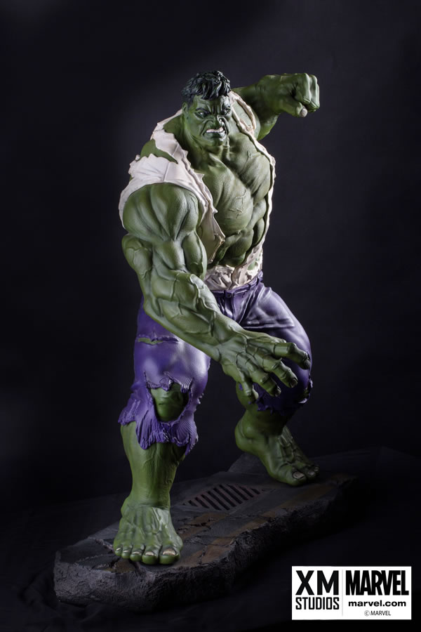 Premium Collectibles : Incredible Hulk - Comics Version XM-hulk-premium-08