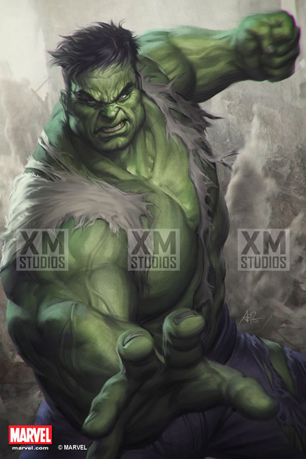 Premium Collectibles : Incredible Hulk - Comics Version XM-hulk-premium-09