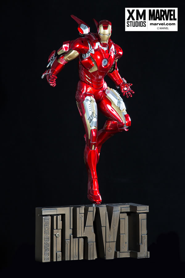 Premium Collectibles : Iron man MK VII XM-iron-man-MK-VII-premium-01
