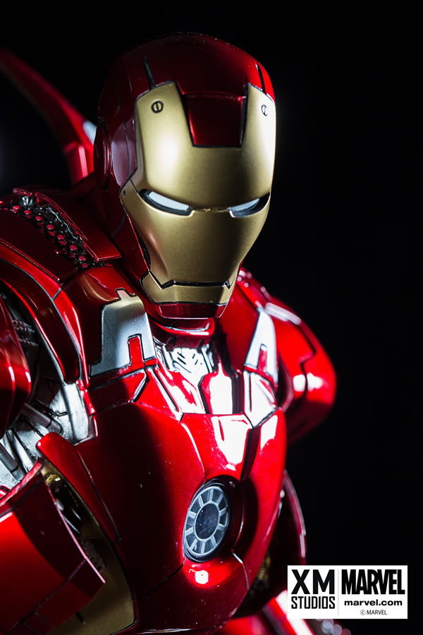 Premium Collectibles : Iron man MK VII XM-iron-man-MK-VII-premium-02