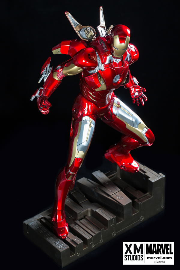 Premium Collectibles : Iron man MK VII XM-iron-man-MK-VII-premium-03