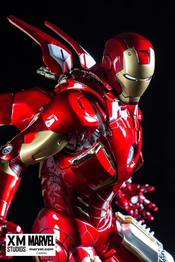 Premium Collectibles : Iron man MK VII XM-iron-man-MK-VII-premium-04