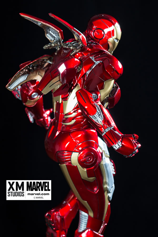 Premium Collectibles : Iron man MK VII XM-iron-man-MK-VII-premium-05