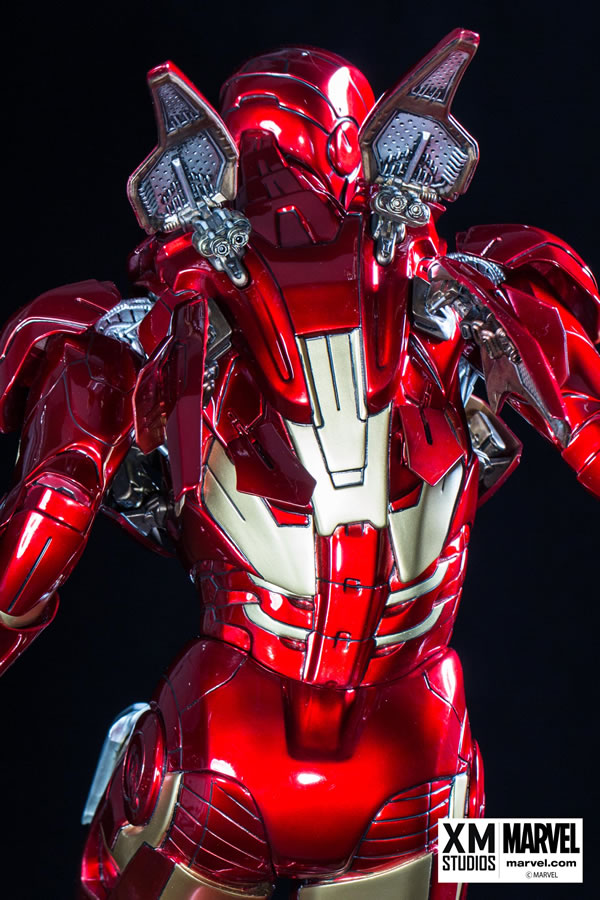 Premium Collectibles : Iron man MK VII XM-iron-man-MK-VII-premium-06