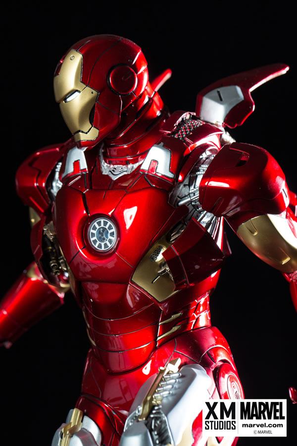 Premium Collectibles : Iron man MK VII XM-iron-man-MK-VII-premium-07