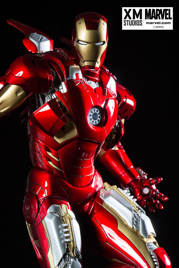 Premium Collectibles : Iron man MK VII XM-iron-man-MK-VII-premium-08