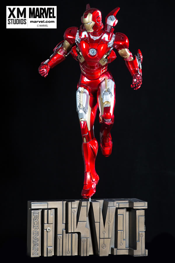 Premium Collectibles : Iron man MK VII XM-iron-man-MK-VII-premium-10