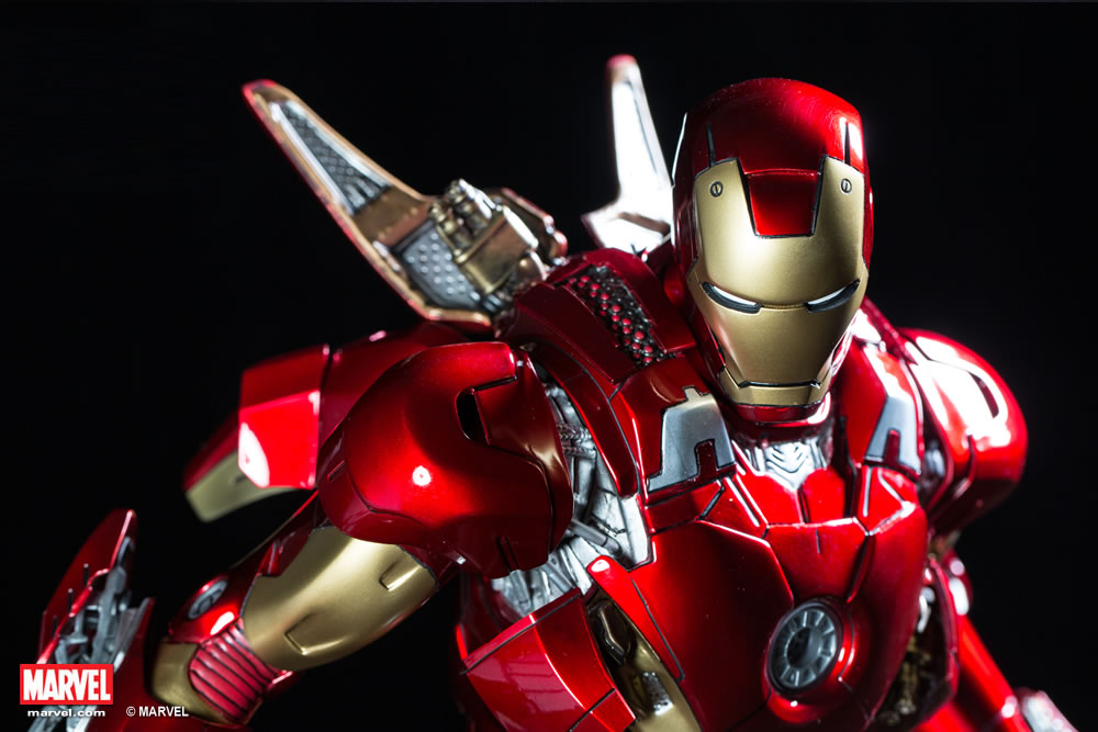 Premium Collectibles : Iron man MK VII XM-iron-man-MK-VII-premium-11