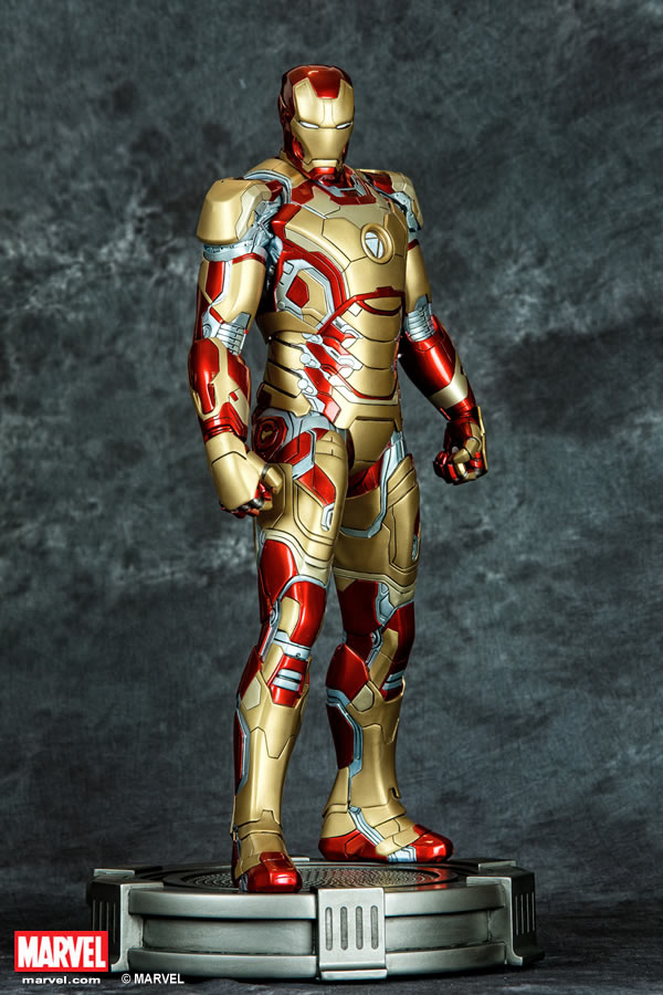 Premium Collectibles : Iron man MK XLII XM-iron-man-MK-XLII-premium-01